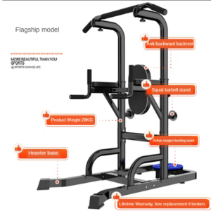 Home Indoor Adult Single Pole Family Single Parallel Bar Frame Multi-Functional Push Fitness Equipment Pull Up