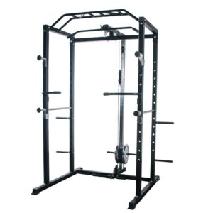 Household Fitness Equipment Frame Smith Gantry Horizontal Push Squat Barbell Rack Size Bird Rack Power Rack