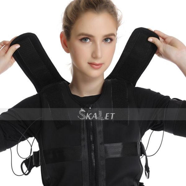 Professional EMS Muscle Stimulation Body Training Suit Physical Exercise Aerobic Weight Loss Gain Muscle