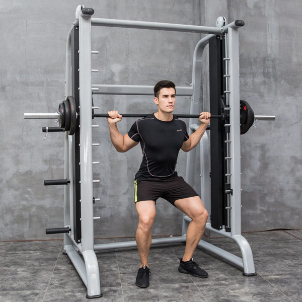Smith Machine Multi-function Gym Equipment Squat Rack Fitness Household Profession Portal Frame Bench Stand