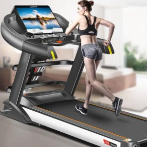 Home luxury 15.6-inch smart WIFI multi-function treadmill exercise weight loss fitness equipment