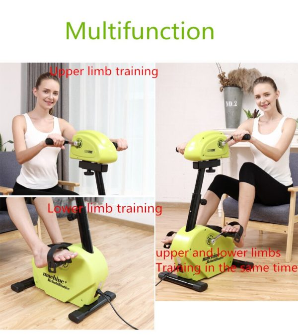 Free shipping Confidence Fitness Motorized Electric Mini Exercise Bike/Pedal Exerciser