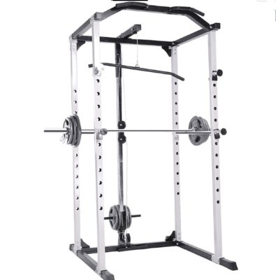 High-tension Version Semi-frame Squat Rack, Horizontal Push Rack, Barbell Rack, Frame Gantry Fitness Equipment