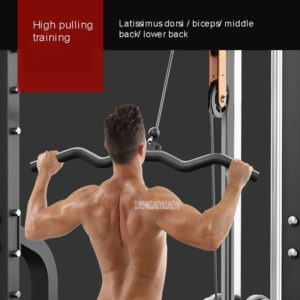 Squat Weightlifting Frame Trainer Chin Up Parallel Bar High Low Pulling Training Multifunctional Combination Fitness Equipment