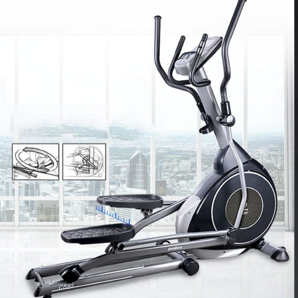 Home Fitness Stepper Self Powered Thin Legs Loss Weight Elliptical Indoor Bike Exercise Stepping Machine Fitness Equipment Gym